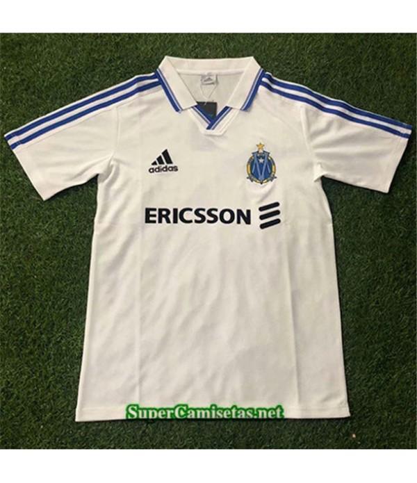 Tailandia Primera Equipacion Camiseta Clasicas Marsella Hombre 1999 00