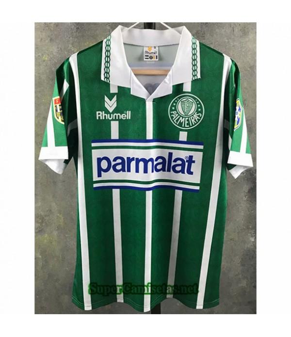 Tailandia Primera Equipacion Camiseta Clasicas Palmeiras Hombre 1993 1994