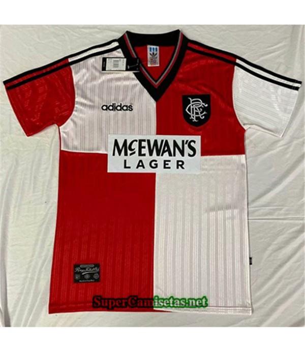 Tailandia Primera Equipacion Camiseta Clasicas Rangers Hombre 1995 96