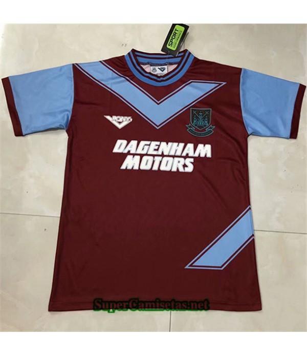 Tailandia Primera Equipacion Camiseta Clasicas West Ham United Hombre 1993 94