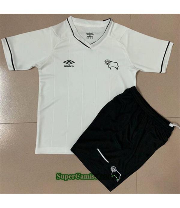 Tailandia Primera Equipacion Camiseta Derby County Niños 2020/21