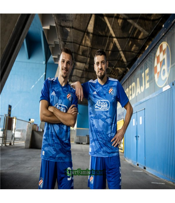 Tailandia Primera Equipacion Camiseta Dinamo Zagreb 2020/21