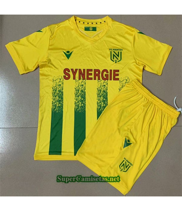 Tailandia Primera Equipacion Camiseta Fc Nantes Niños 2020/21