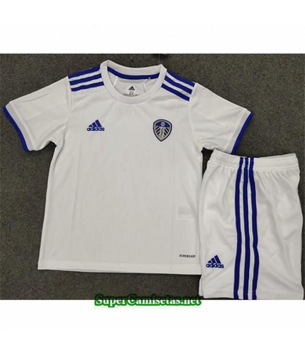 Tailandia Primera Equipacion Camiseta Leeds United Niños 2020/21