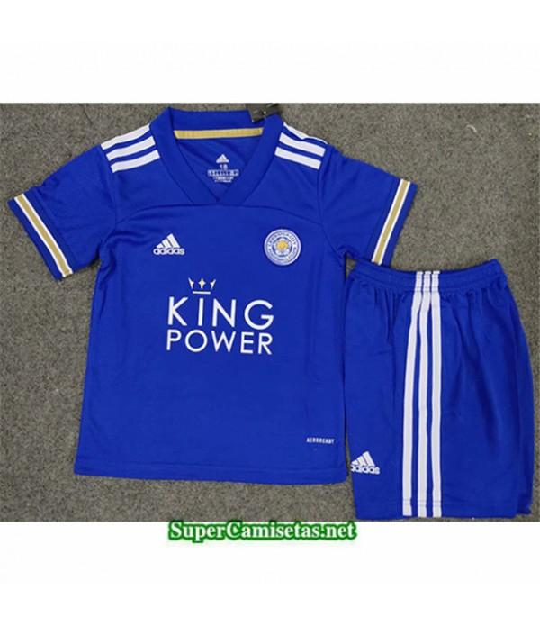Tailandia Primera Equipacion Camiseta Leicester City Enfant 2020/21