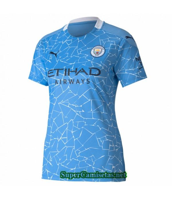Tailandia Primera Equipacion Camiseta Manchester City Mujer 2020/21