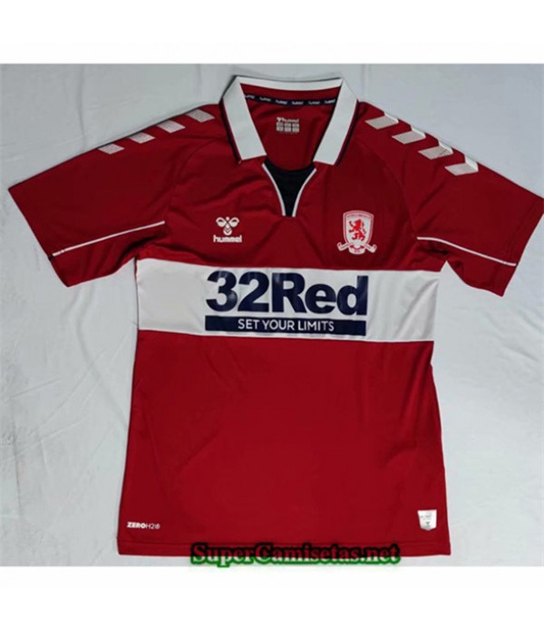 Tailandia Primera Equipacion Camiseta Middlesbrough 2020/21
