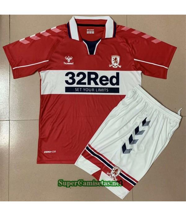 Tailandia Primera Equipacion Camiseta Middlesbrough Niños 2020/21