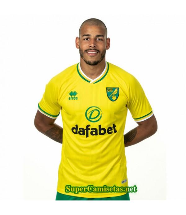 Tailandia Primera Equipacion Camiseta Norwich City 2020/21