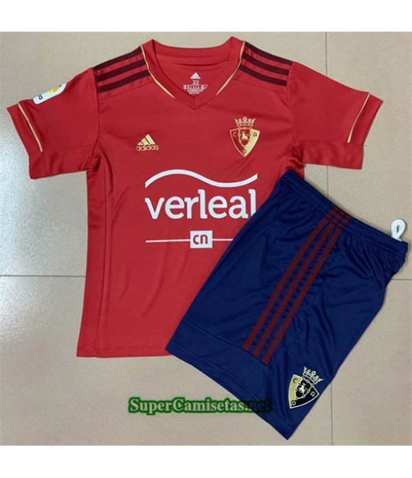 Tailandia Primera Equipacion Camiseta Osasuna Niños 2020/21