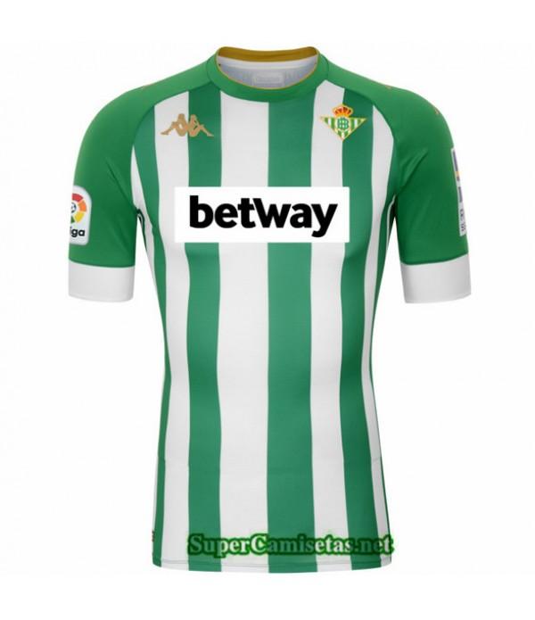 Tailandia Primera Equipacion Camiseta Real Betis 2020/21