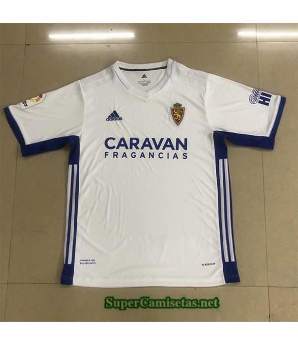 Tailandia Primera Equipacion Camiseta Real Zaragoza 2020/21