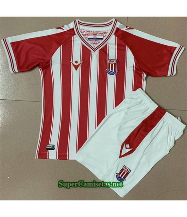 Tailandia Primera Equipacion Camiseta Stoke City Enfant 2020/21