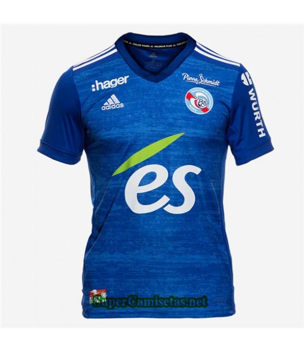 Tailandia Primera Equipacion Camiseta Strasbourg 2020/21