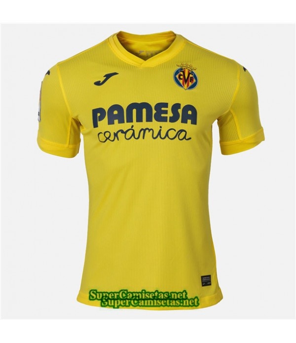 Tailandia Primera Equipacion Camiseta Villarreal 2020/21