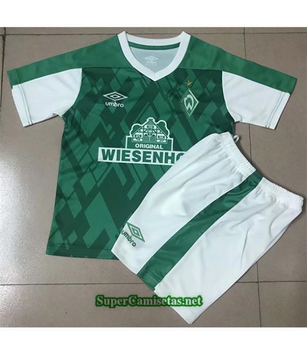 Tailandia Primera Equipacion Camiseta Werder Brême Niños 2020/21