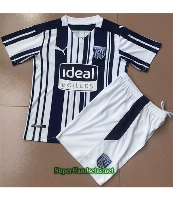 Tailandia Primera Equipacion Camiseta West Bromwich Niños 2020/21