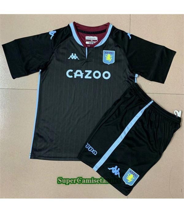 Tailandia Segunda Equipacion Camiseta Aston Villa Enfant 2020/21
