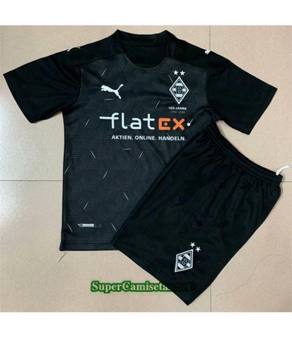 Tailandia Segunda Equipacion Camiseta Borussia Monchengladbach Niños 2020/21