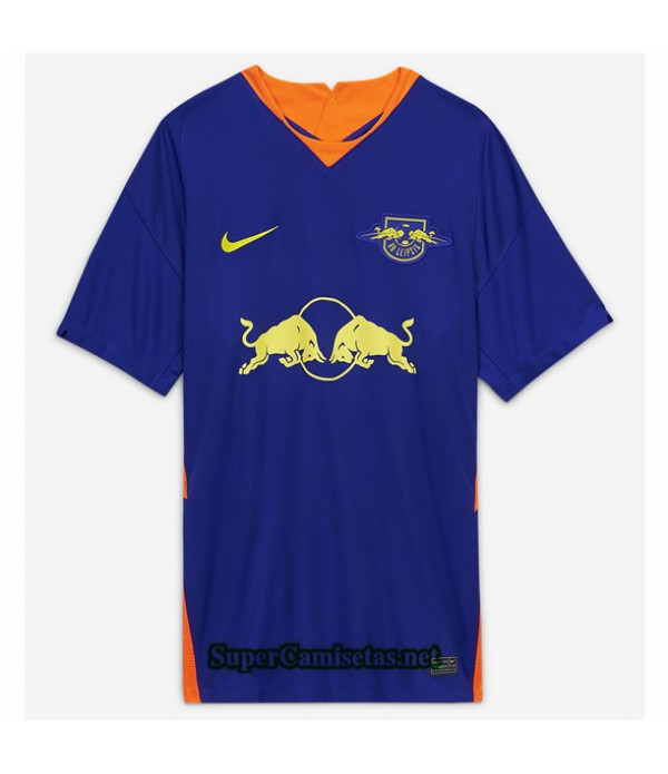 Tailandia Segunda Equipacion Camiseta Bull Leipzig Azul 2020/21