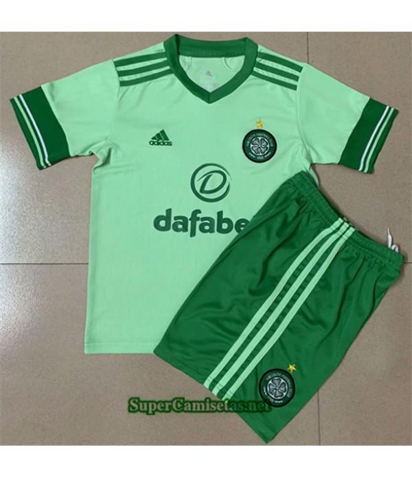 Tailandia Segunda Equipacion Camiseta Celtic Niños 2020/21