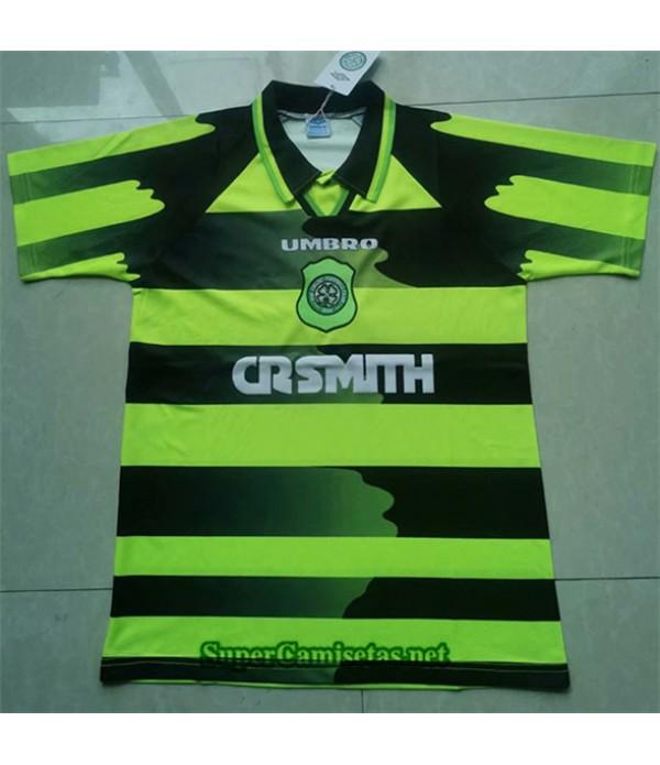 Tailandia Segunda Equipacion Camiseta Clasicas Celtic Hombre 1996 97
