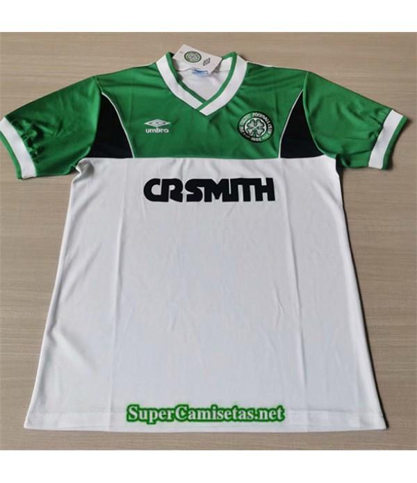 Tailandia Segunda Equipacion Camiseta Clasicas Celtics Hombre 1985 86