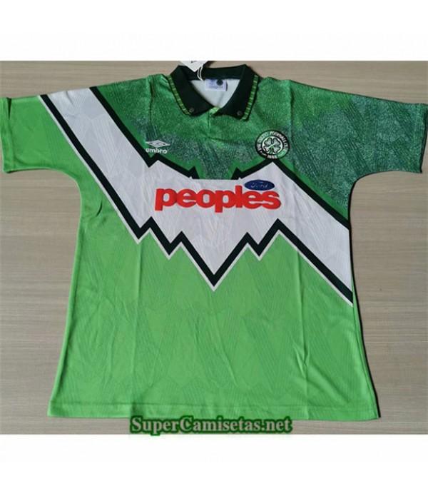 Tailandia Segunda Equipacion Camiseta Clasicas Celtics Hombre 1991 92