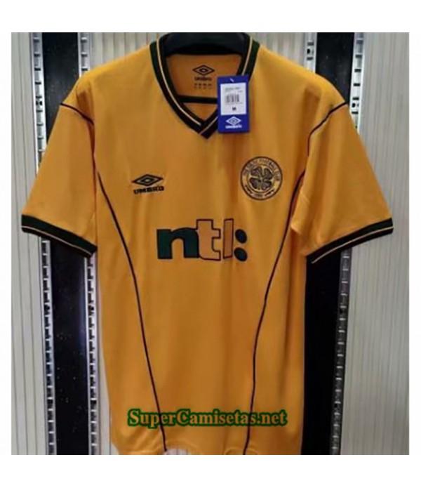 Tailandia Segunda Equipacion Camiseta Clasicas Celtics Hombre 2001 02