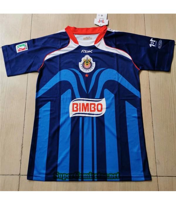Tailandia Segunda Equipacion Camiseta Clasicas Chivas Regal Hombre 2006 07