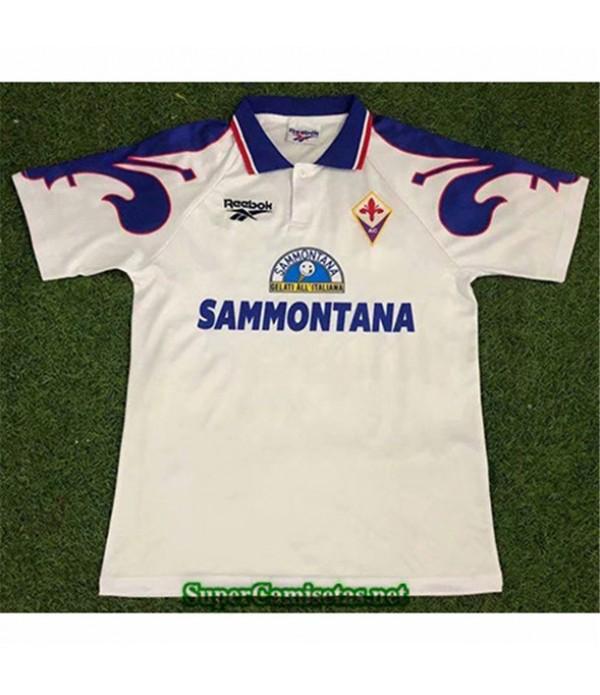 Tailandia Segunda Equipacion Camiseta Clasicas Fiorentina Hombre 1995 96