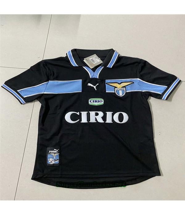 Tailandia Segunda Equipacion Camiseta Clasicas Lazio Hombre 1998 00