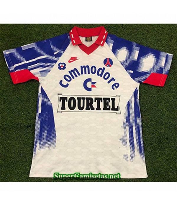 Tailandia Segunda Equipacion Camiseta Clasicas Psg Hombre 1993 94