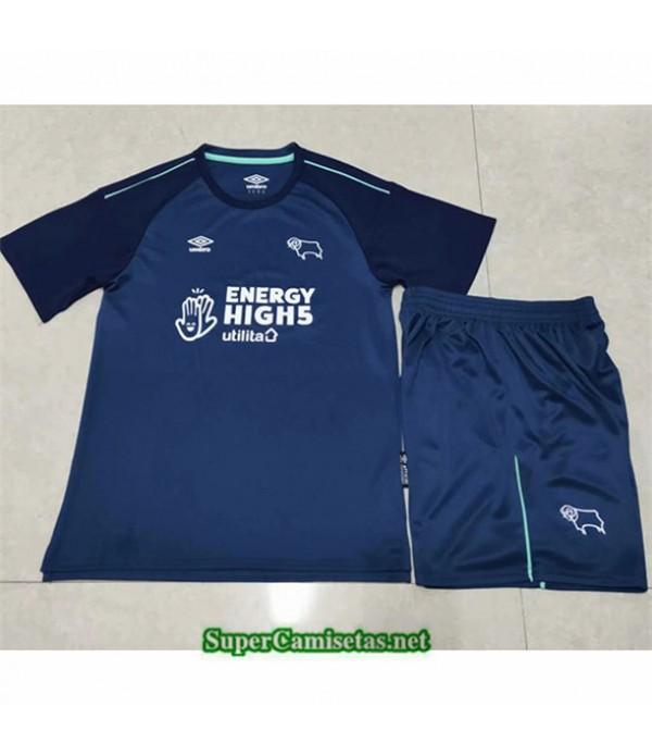 Tailandia Segunda Equipacion Camiseta Derby County Niños 2020/21