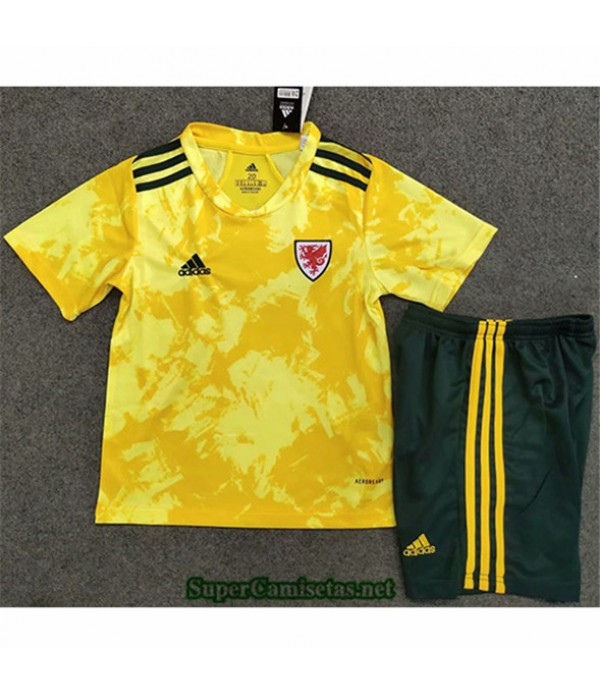 Tailandia Segunda Equipacion Camiseta Gales Enfant 2020/21