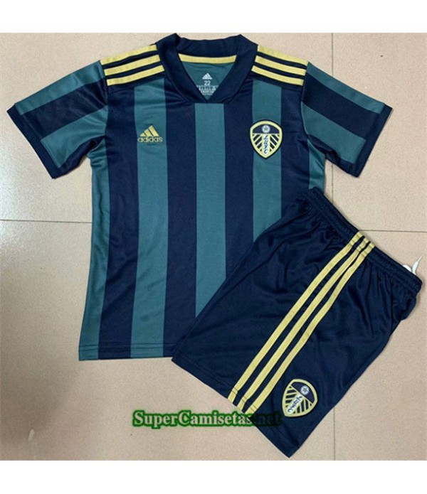 Tailandia Segunda Equipacion Camiseta Leeds United Niños 2020/21
