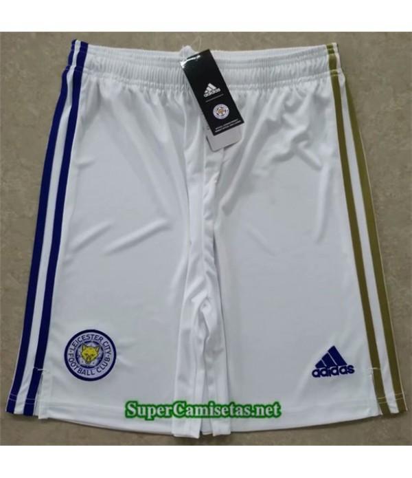 Tailandia Segunda Equipacion Camiseta Leicester City Pantalones 2020/21