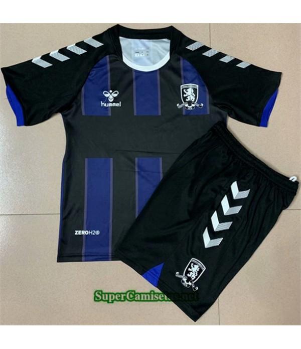 Tailandia Segunda Equipacion Camiseta Middlesbrough Niños 2020/21