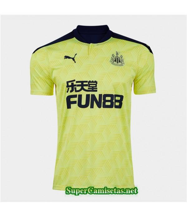 Tailandia Segunda Equipacion Camiseta Newcastle United 2020/21