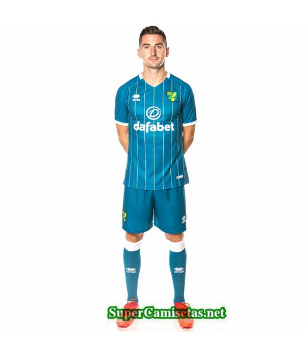 Tailandia Segunda Equipacion Camiseta Norwich City 2020/21