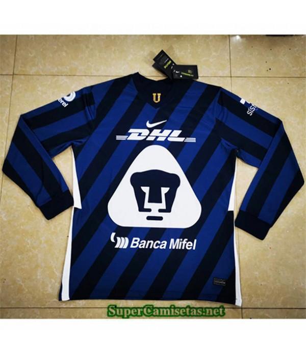 Tailandia Segunda Equipacion Camiseta Pumas Manga Larga 2020/21