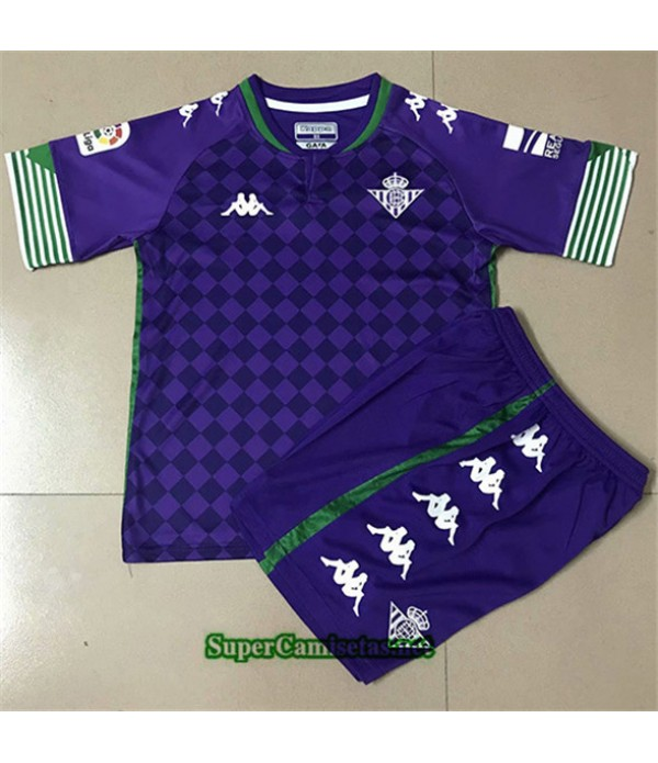 Tailandia Segunda Equipacion Camiseta Real Betis Enfant 2020/21