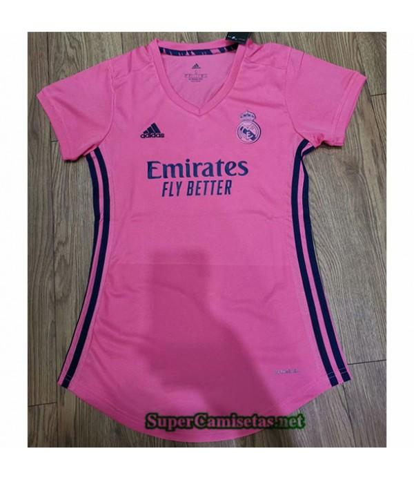 Tailandia Segunda Equipacion Camiseta Real Madrid Mujer 2020/21
