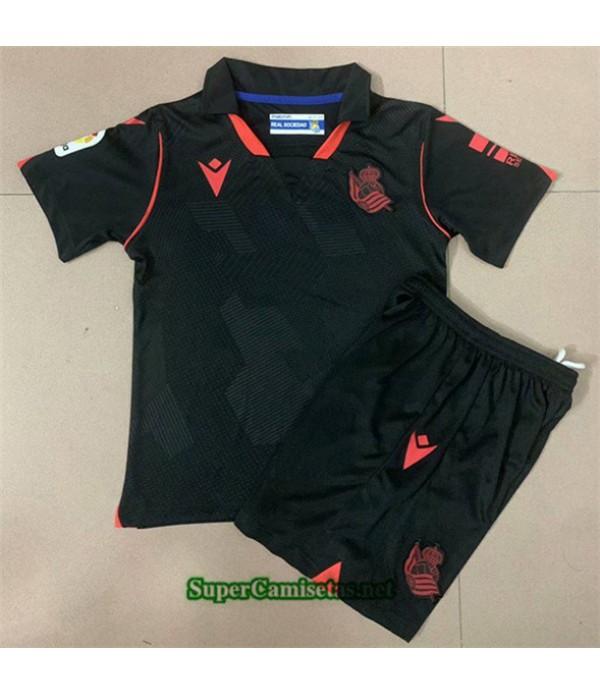 Tailandia Segunda Equipacion Camiseta Real Sociedad Niños 2020/21