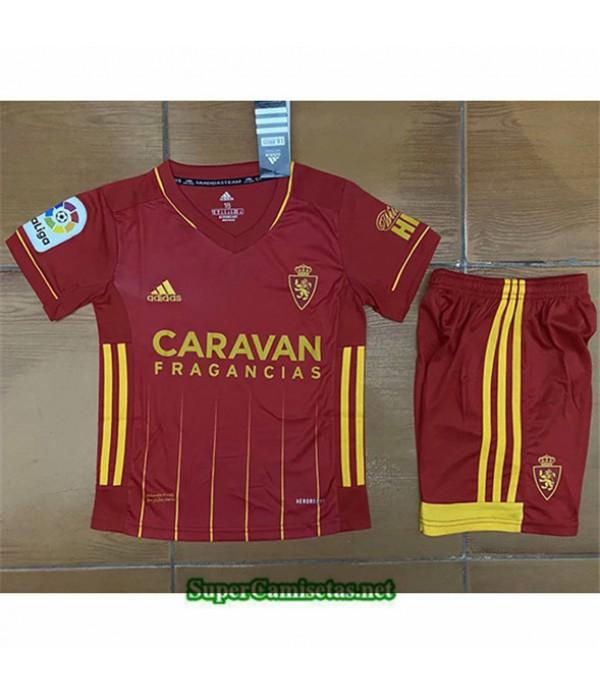 Tailandia Segunda Equipacion Camiseta Real Zaragoza Enfant 2020/21