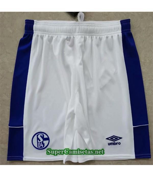 Tailandia Segunda Equipacion Camiseta Schalke 04 Pantalones 2020/21