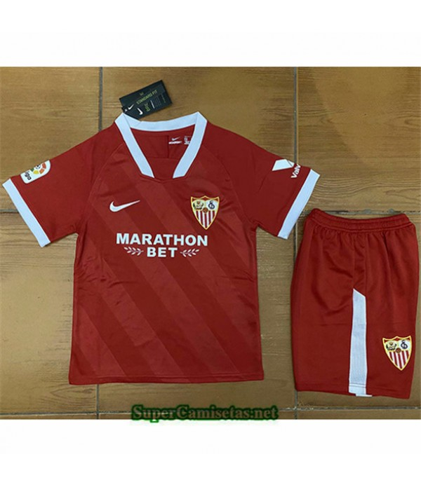 Tailandia Segunda Equipacion Camiseta Sevilla Niños 2020/21
