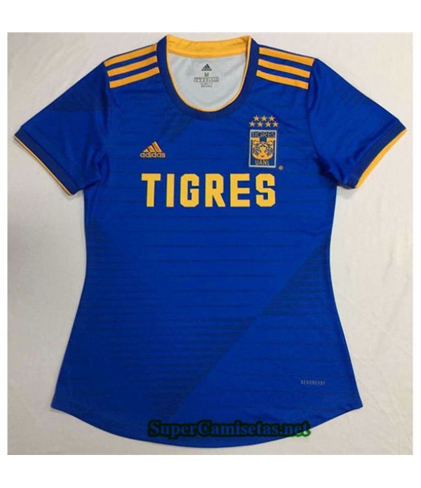 Tailandia Segunda Equipacion Camiseta Tigres Mujer 2020/21