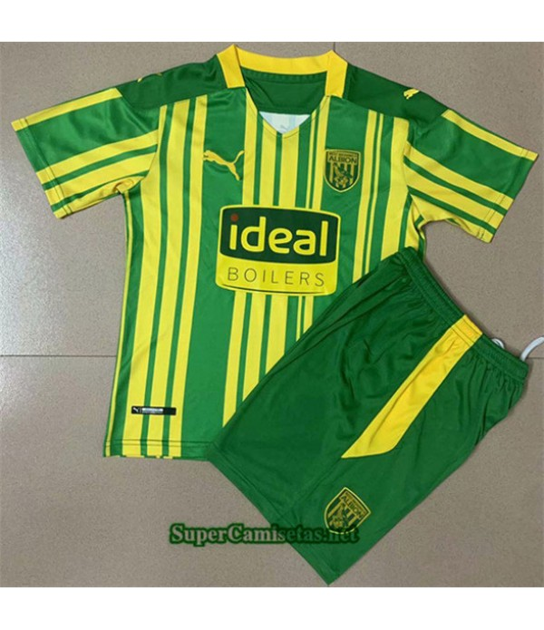 Tailandia Segunda Equipacion Camiseta West Bromwich Albion Enfant 2020/21