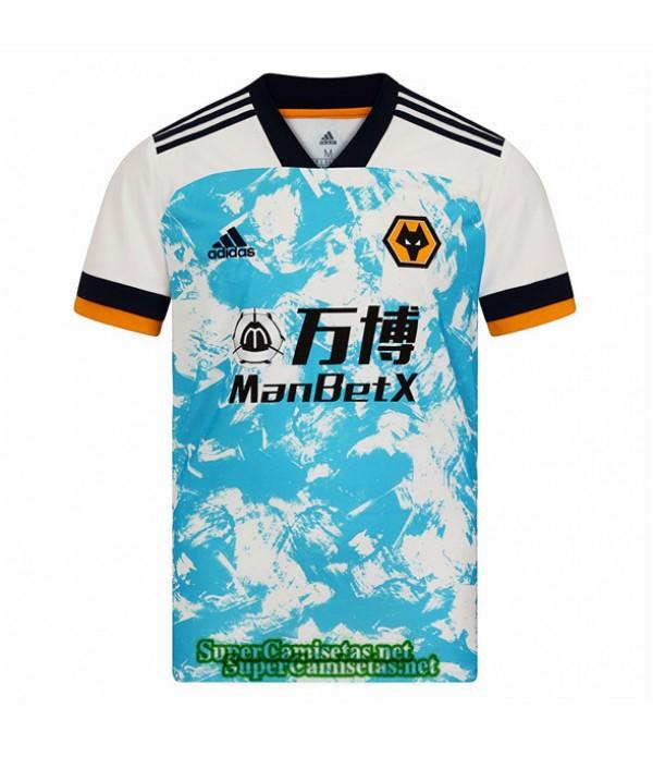 Tailandia Segunda Equipacion Camiseta Wolverhampton 2020/21